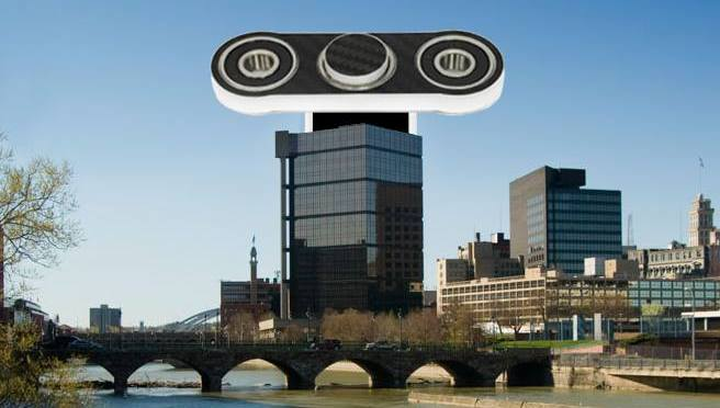 Rochester's Revolving Restaurant To Be Replaced With A Fidget Spinner