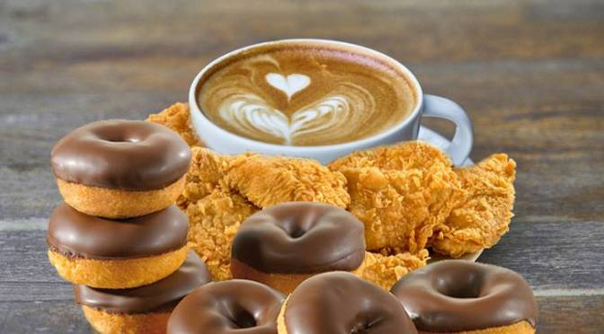 """Glen Edith  Introduces """"Coffee, Donut, Chicken Bowl"""" Because Why Not"""