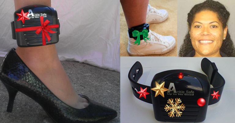 Judge Astacio's Holiday Tips for Decorating A House Arrest Ankle Monitor
