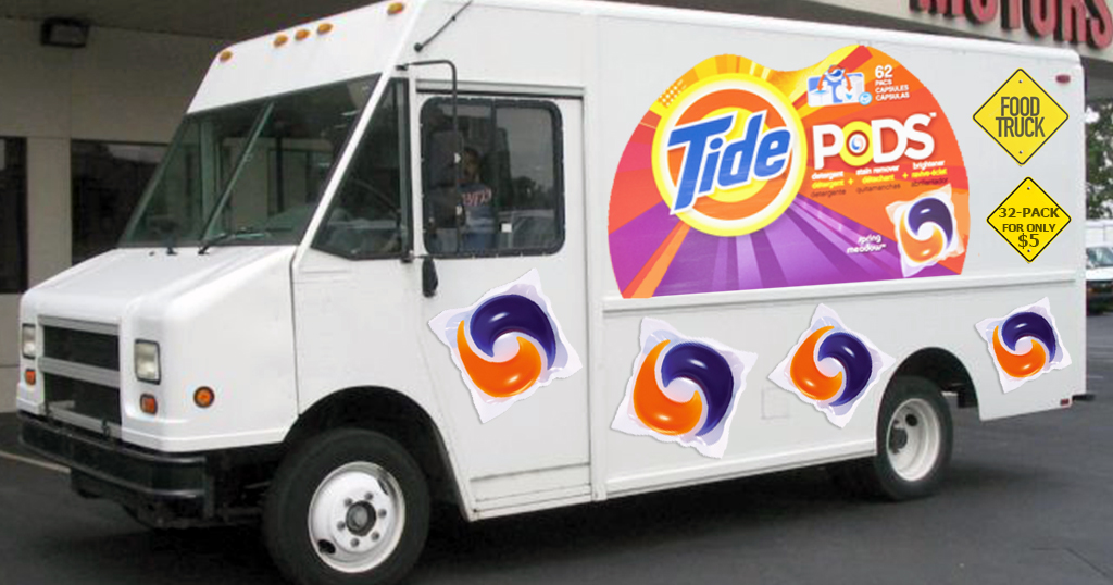 tide pods food trucks