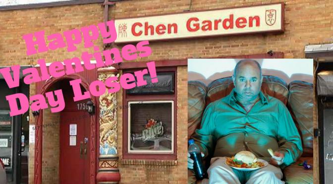 "Chen Garden To Add New ""Fat Single Person"" Menu for Valentines Day!"