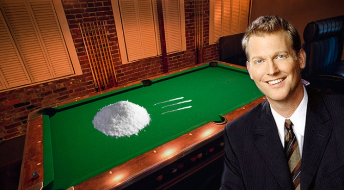 Another Late Night Host in ROC? Craig Kilborn Spotted Selling Coke at Lux