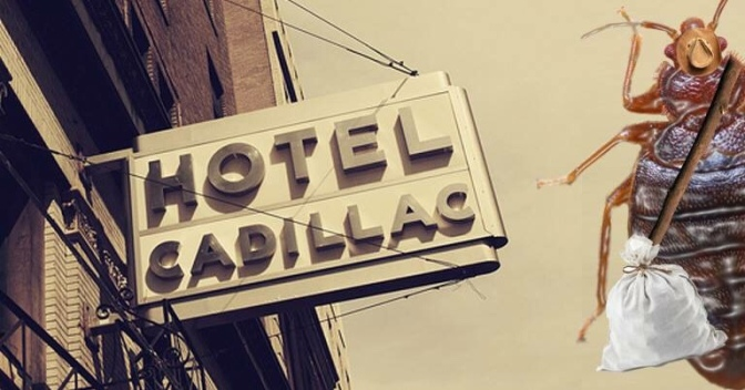 Hotel Cadillac Shuts Down Leaving Thousands of Bed Bugs Homeless