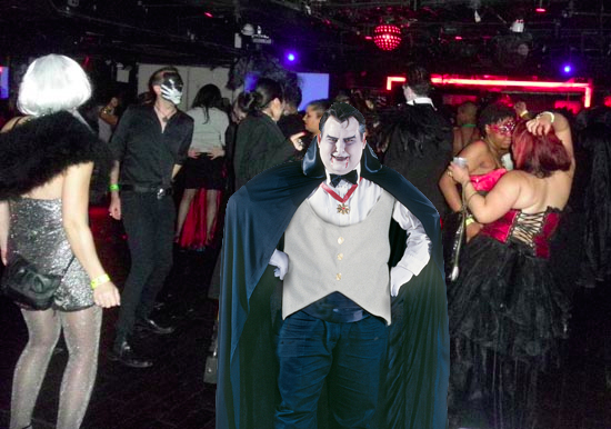 Man dressed as Dracula greatly overestimated positive response he thought he'd receive at Vertex Goth Club