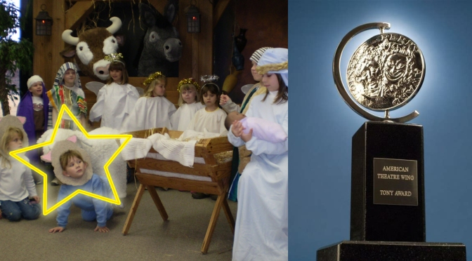 """Local Child Who Played """"Sheep #2"""" In Christmas Pageant Gets Surprise Tony Award Nomination"""