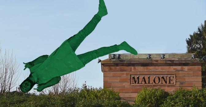Statue of Post Malone torn down in retaliation for Frederick Douglass incident