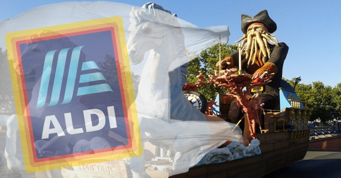 ALDI's hosts alternative to Top's St. Paddy's Parade where you have to bag your own parade floats