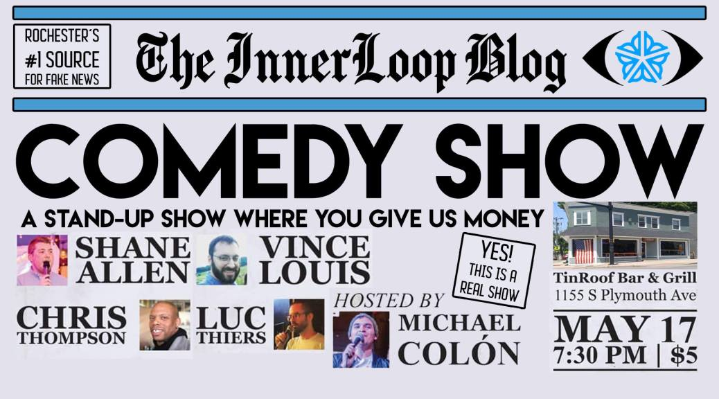 Inner Loop Blog Comedy Show at Tin Roof