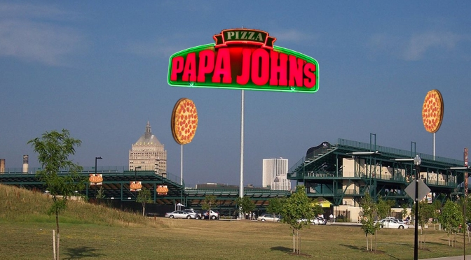 Rochester Rhinos Rebrand By Reopening Papa John's Locations