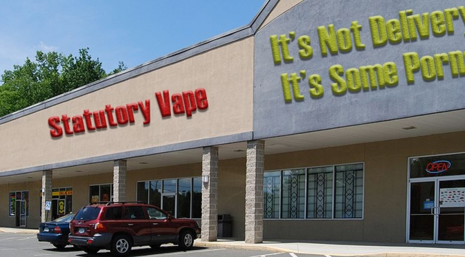 New Vape/Pawn Shop and Abandoned Porn Theater Megaplex Threatens Monroe Ave Business