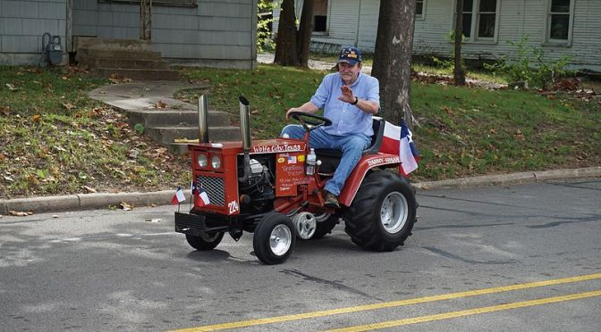 Shut Down of Major Roads in Downtown Rochester for Father's Day Lawn Mower Walk