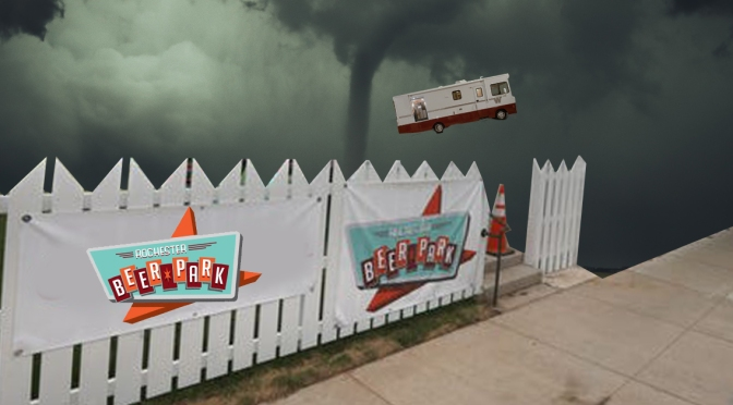 Tornado Hits Rochester, Only Destroys South Wedge Trailer Park Bar