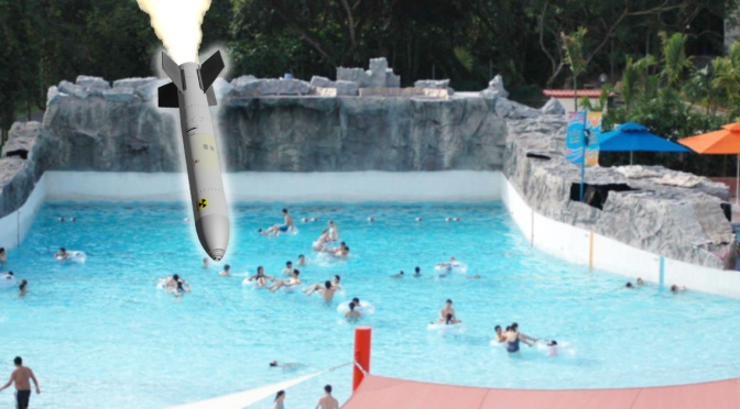 Mayor Warren Calls For Nuclear Bomb to Calm Seabreeze Wave Pool