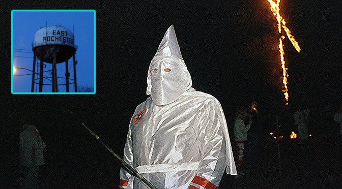East Rochester Man Says He Is In the KKK, But Swears He's Not Racist