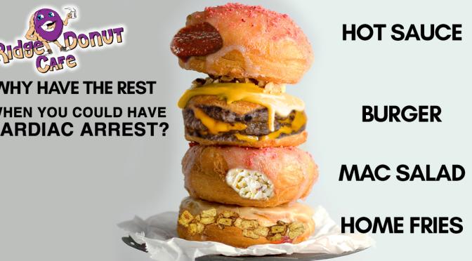 """Ridge Donut, Nick Tahou Team Up for """"Garbage-nuts"""""""