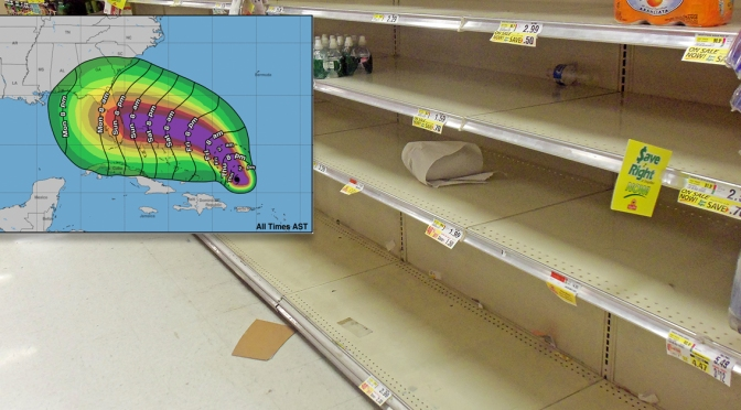 Hurricane Dorian Will Not Affect Rochester; Locals Buy Several Loaves of Bread Just to Be Safe