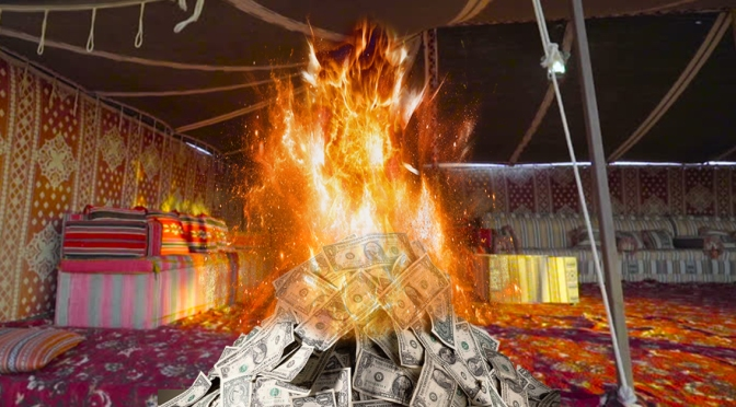 New Fringe Fest Show Just You Burning $25 in a Tent