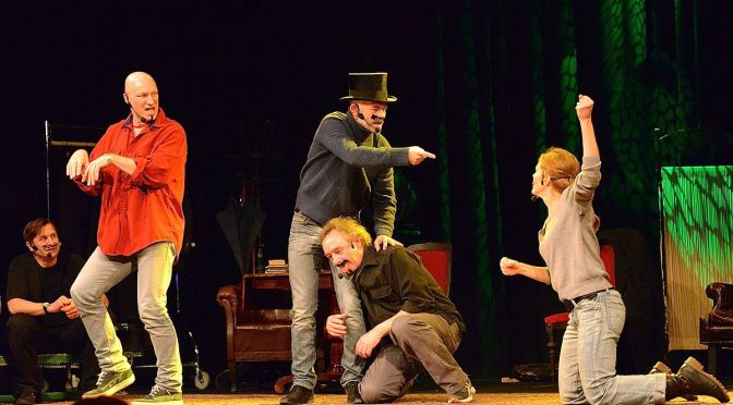 "Improv Group Prepared to Challenge the Meaning of the Word ""Performance"" for Fringe Fest"