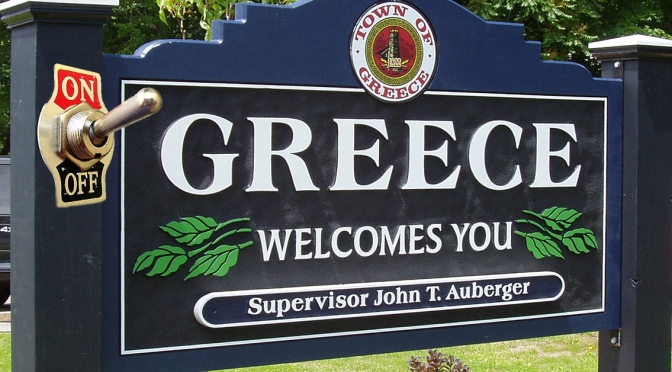 I.T. Tech Suggests Turning Greece, NY Off and On again