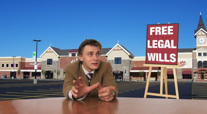 "Local Attorney Offering ""Free Wills"" for Anyone Going into Wegmans the Night Before Thanksgiving"