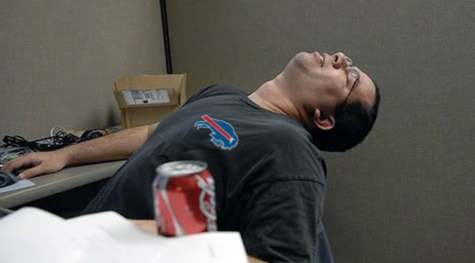 Western NY Productivity Decreases 110% With Bills Fans Not Used To Primetime Game