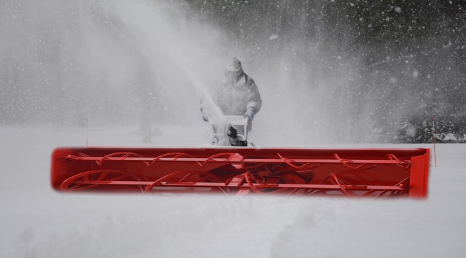 """Rochester Inventor Fined For His """"One Pass Snow Blower"""""""