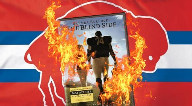 Confused Bills Fans Burn Sandra Bullock DVDs After Questionable Blindside Block Penalty