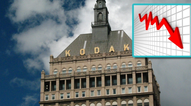 Kodak Announces New Business Strategy to Fall Back Into Bankruptcy