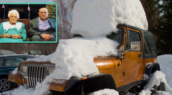 Scientists Confirm Height of Unbrushed Roof Snow, Related to How Disappointed Your Parents Are