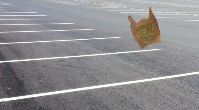Man Easily Finds Parking Spot at East Ave Wegmans