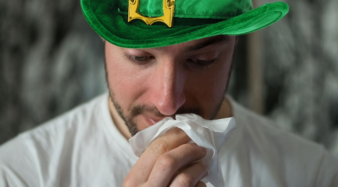 Monroe Ave Bar Crawler Swears It's Not COVID-19; It's Just 'St. Patrick's Cough'