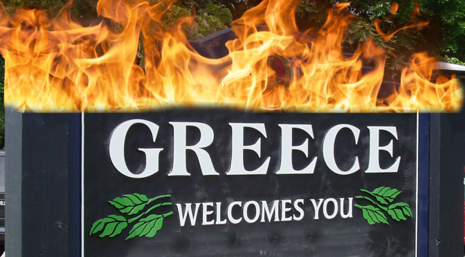 Local Fire Department Warns Residents Against Using Water in Case of Greece Fire