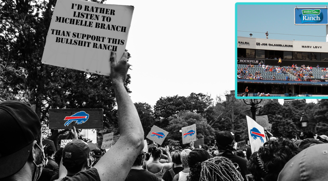 Buffalo Descends Into Chaos After Bills Stadium Naming Rights Sold to Hidden Valley Ranch