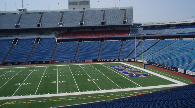Bills Stadium to Start Playing Feint Sounds of Fans Vomiting to Maintain Home Game Realism