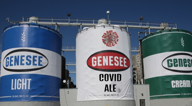 Genesee Brew House Unveils New Taste and Smell Free COVID Ale