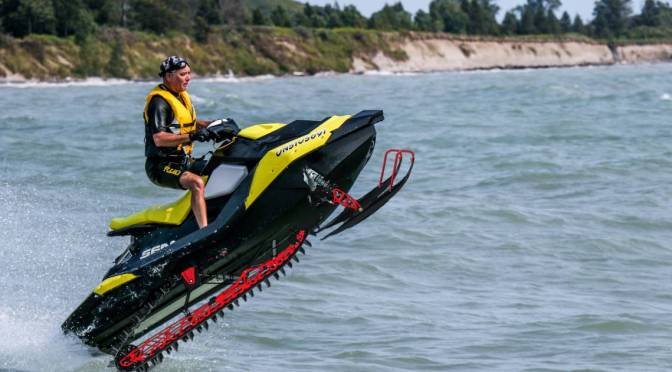 Rochester Douchebags Rejoice After Inventor Releases Snowmobile Jet Ski Hybrid