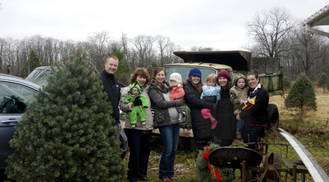 Family Posing for Photo at Wilbert's Christmas Tree Farm Is Actually Extremely Unhappy