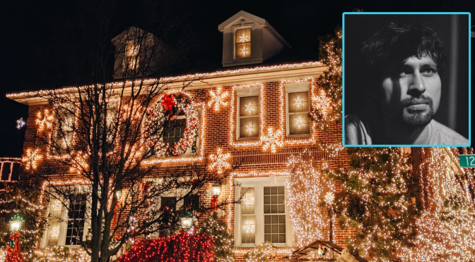 Victor Man's Spectacular Christmas Lights Get Wife to Finally Notice Him
