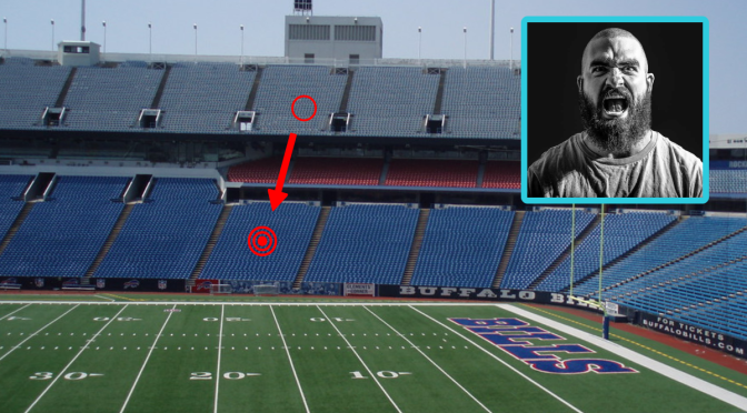 Bills Fan Upset He'll Have To Throw Beer Down Twenty Rows To Douse Colts Fan