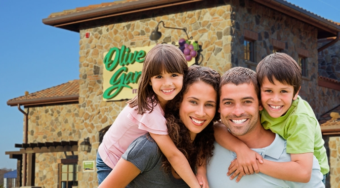 With Restrictions Lifted, Greece Family Excited to Have 'Fancy Meal' Inside Olive Garden Again